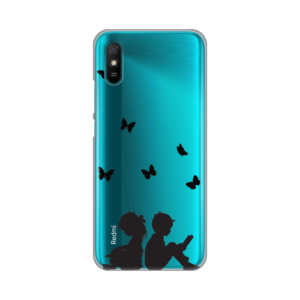 Maska Silikonska Print Skin za Xiaomi Redmi 9A Boy And Girl Reading