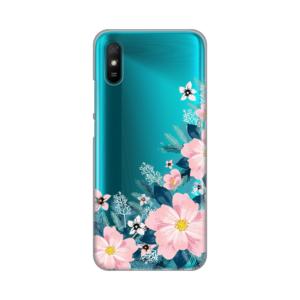 Maska Silikonska Print Skin za Xiaomi Redmi 9A Bright Flowers