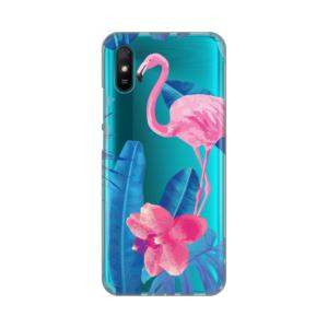 Maska Silikonska Print Skin za Xiaomi Redmi 9A Summer Flamingo