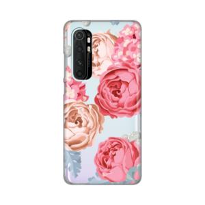 Maska Silikonska Print Skin za Xiaomi Redmi Note 10 lite Pink Flowers
