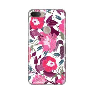 Maska Silikonska Print za Alcatel 1S 2019/5024D Pink Flowers