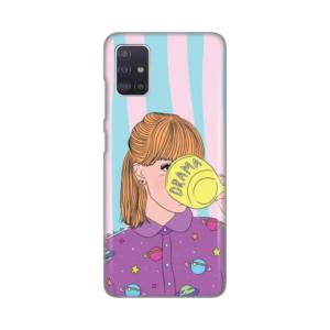 Maska Silikonska Print za Samsung A515F Galaxy A51 Drama Girl