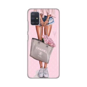 Maska Silikonska Print za Samsung A515F Galaxy A51 Girl With Bag
