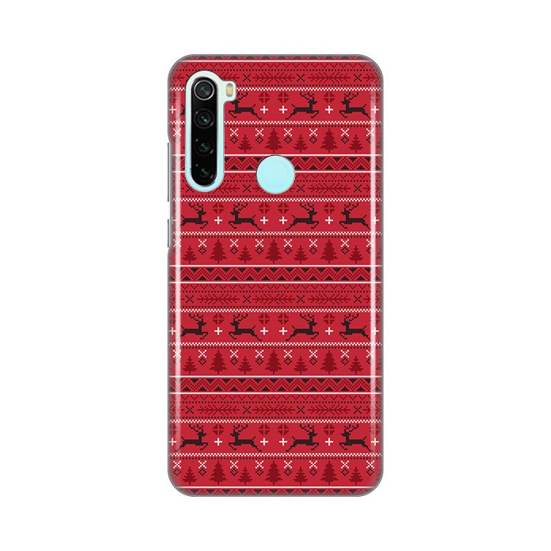 Maska Silikonska Print za Xiaomi Redmi Note 8 Deers Pattern