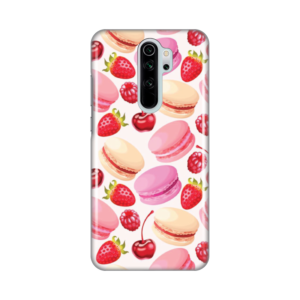 Maska Silikonska Print za Xiaomi Redmi Note 8 Pro Macaroons And Fruits