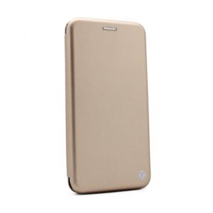 Maska Teracell Flip Cover za Motorola Moto E6s zlatna