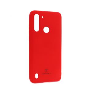 Maska Teracell Giulietta za Motorola Moto G8 Power Lite mat crvena
