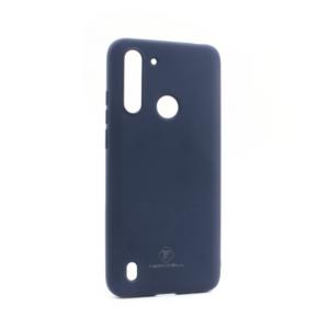 Maska Teracell Giulietta za Motorola Moto G8 Power Lite mat tamno plava