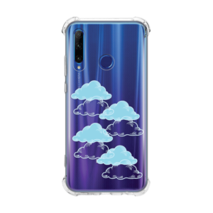 Maska Transparent Ice Cube za Huawei Honor 20 lite/Honor 20e Pretty Clouds