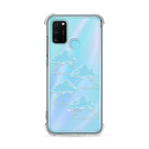 Maska Transparent Ice Cube za Huawei Honor 9A Pretty Clouds