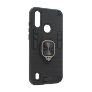 Maska Cube Ring za Motorola Moto E6S crna