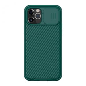 Maska Nillkin CamShield Pro za iPhone 12/12 Pro 6.1 zelena
