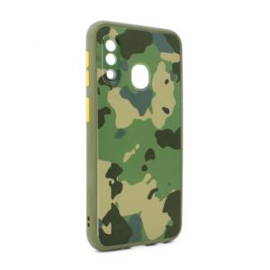 Maska PC Army za Samsung A202F Galaxy A20e zelena