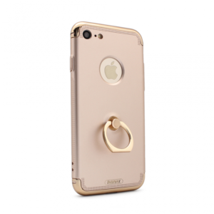 Maska Remax Lock Series Creative Ring za iPhone 7/8 zlatna
