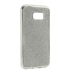 Maska Shiny za Samsung G935 S7 Edge srebrna