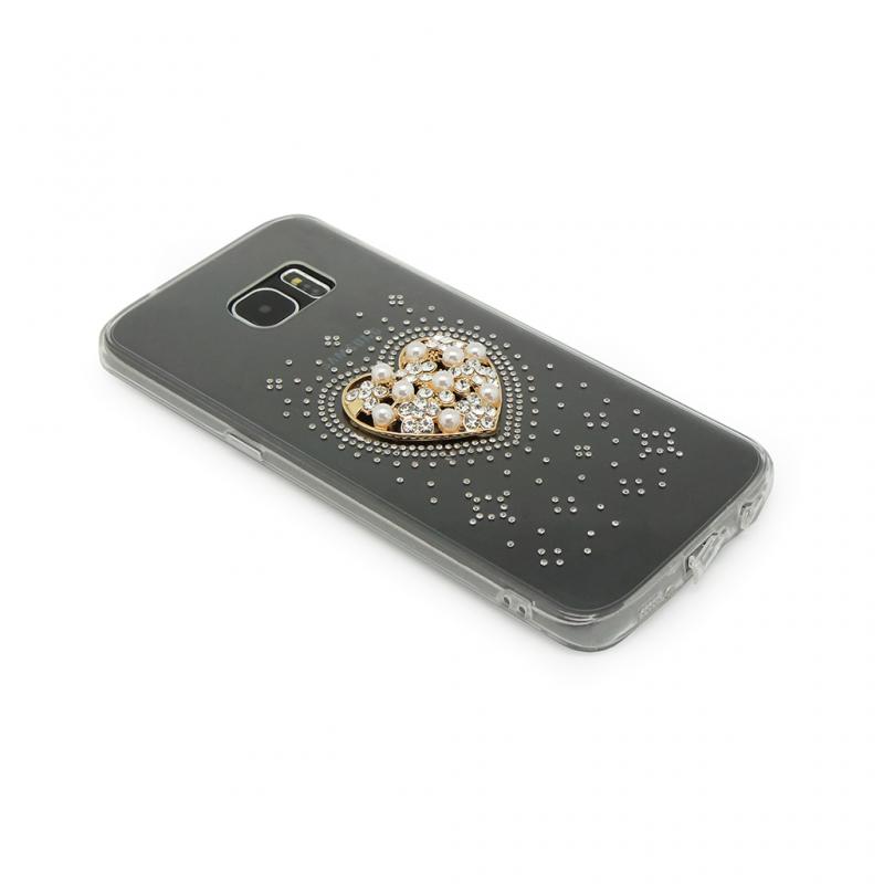 Maska silikonska Breeze Younicou za Samsung G935 S7 Edge love