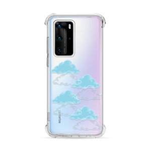 Maska Silikonska Ice Cube Print za Huawei P40 Pro Pretty Clouds