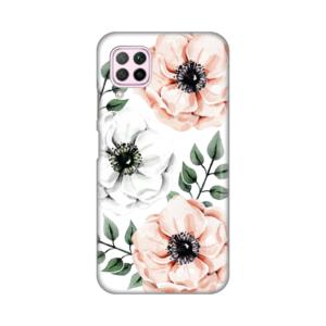 Maska Silikonska Print za Huawei P40 Lite/Nova 6 SE Flower Art