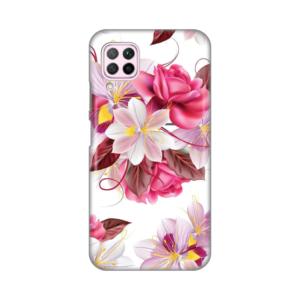 Maska Silikonska Print za Huawei P40 Lite/Nova 6 SE Flowers Bouquet