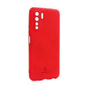 Maska Teracell Giulietta za Huawei P40 Lite 5G mat crvena