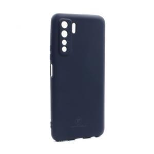 Maska Teracell Giulietta za Huawei P40 Lite 5G mat tamno plava