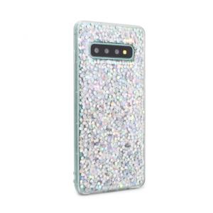 Maska Younicou Sparkly za Samsung G973 S10 srebrna