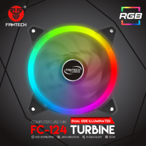 Kuler za PC Fantech FC-124 Turbine RGB