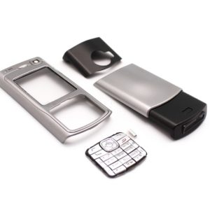 Maska za Nokia N70 siva