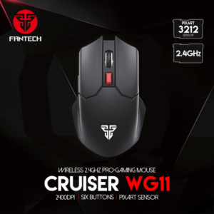 Mis Wireless Fantech WG11 Cruiser crni