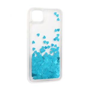 Maska Liquid Heart za Huawei Y5p/Honor 9S plava