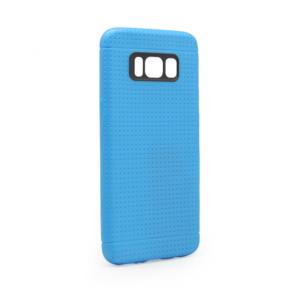 Maska Polka dots za Samsung G955 S8 Plus plava