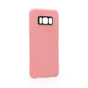 Maska Polka saten za Samsung G955 S8 Plus pink