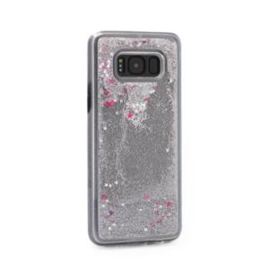 Maska silikonska Leaves fluid za Samsung G950 S8 srebrna