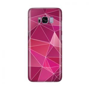 Maska Silikonska Print Skin Za Samsung G950 S8 Cristal Case 008 Purple Polygonal Mosaic