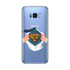 Maska Silikonska Print Skin Za Samsung G955 S8 Plus Cristal Case 1148 Super Dad