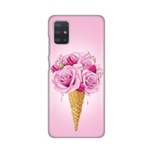 Maska Silikonska Print za Samsung A515F Galaxy A51 Flower Cornet