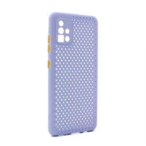 Maska Soft Air za Samsung A515F Galaxy A51 ljubicasta