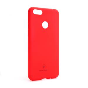 Maska Teracell Giulietta za Motorola Moto E6 Play mat crvena