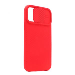 Maska Camera protection za iPhone 12/12 Pro 6.1 crvena