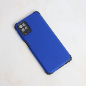 Maska Edge za Samsung A125F Galaxy A12 tamno plava