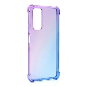 Maska Ice Cube Color za Huawei P Smart 2021 ljubicasto plava