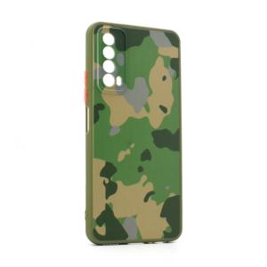 Maska PC Army za Huawei P Smart 2021 zelena