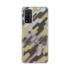 Maska Silikonska Print Skin za Huawei Honor 10X Lite Army Pattern
