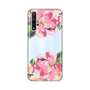 Maska Silikonska Print Skin za Huawei Honor 20/Nova 5T Pink Flower