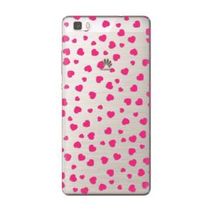 Maska silikonska Print Skin za Huawei P8 lite Valentines Cristal Case 001