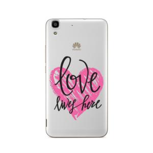 Maska silikonska Print Skin za Huawei Y6 Valentines Cristal Case 014
