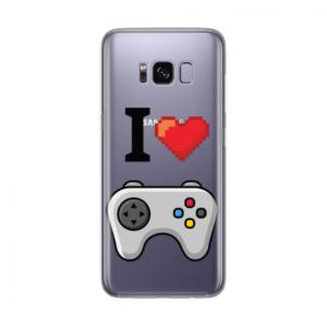 Maska Silikonska Print Skin Za Samsung G950 S8 Cristal Case 1215 I Love Game
