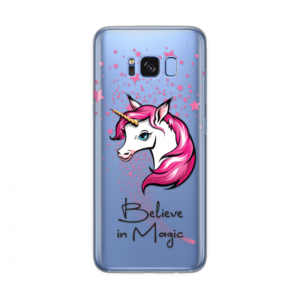 Maska Silikonska Print Skin Za Samsung G955 S8 Plus Cristal Case 030 Believe In Magic