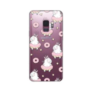 Maska Silikonska Print Skin Za Samsung G960 S9 Unicorn Donuts Pattern