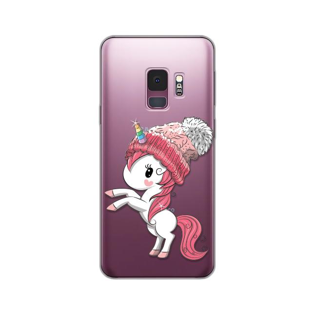 Maska Silikonska Print Skin Za Samsung G960 S9 Winter Unicorn
